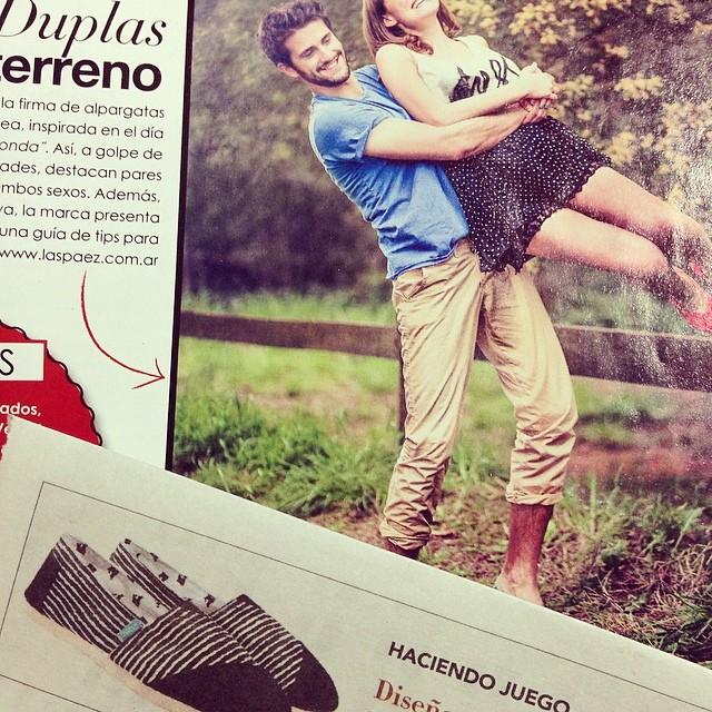 Paez en Vanidades y Clarín Mujer #press #paez #magazine #news #paper #clip #prensa #clarín