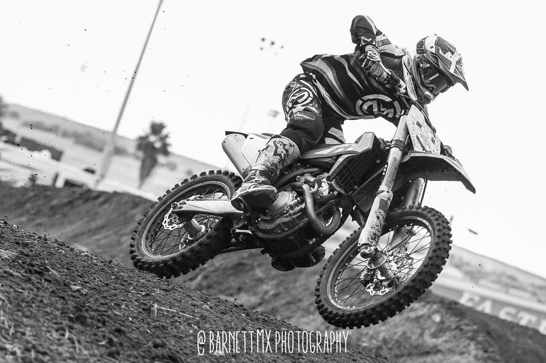 First race back in about a year! Forgot how much fun it is. @barnettmxphotography #barnettmxphotography #Moto #motocross #dirtbikes #blackandwhite #shred #tampamx