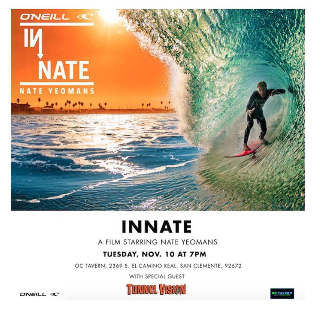 Happy Monday you hooligans! If you're in the San Clemente area tomorrow make sure to check out @hovenvision Team rider, Yeomans (@bigdeluxe_ ) at @oc_tavern for the INMATE premier hosted by @oneill . This video covers his journey as he joined the...