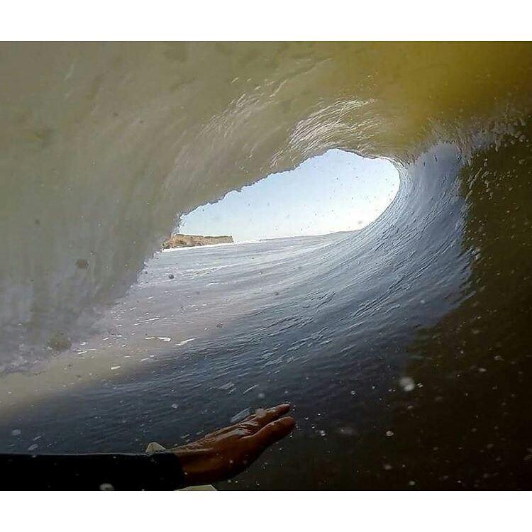 Nada como un buen día de olas para @juanarca1 en Mar del Plata