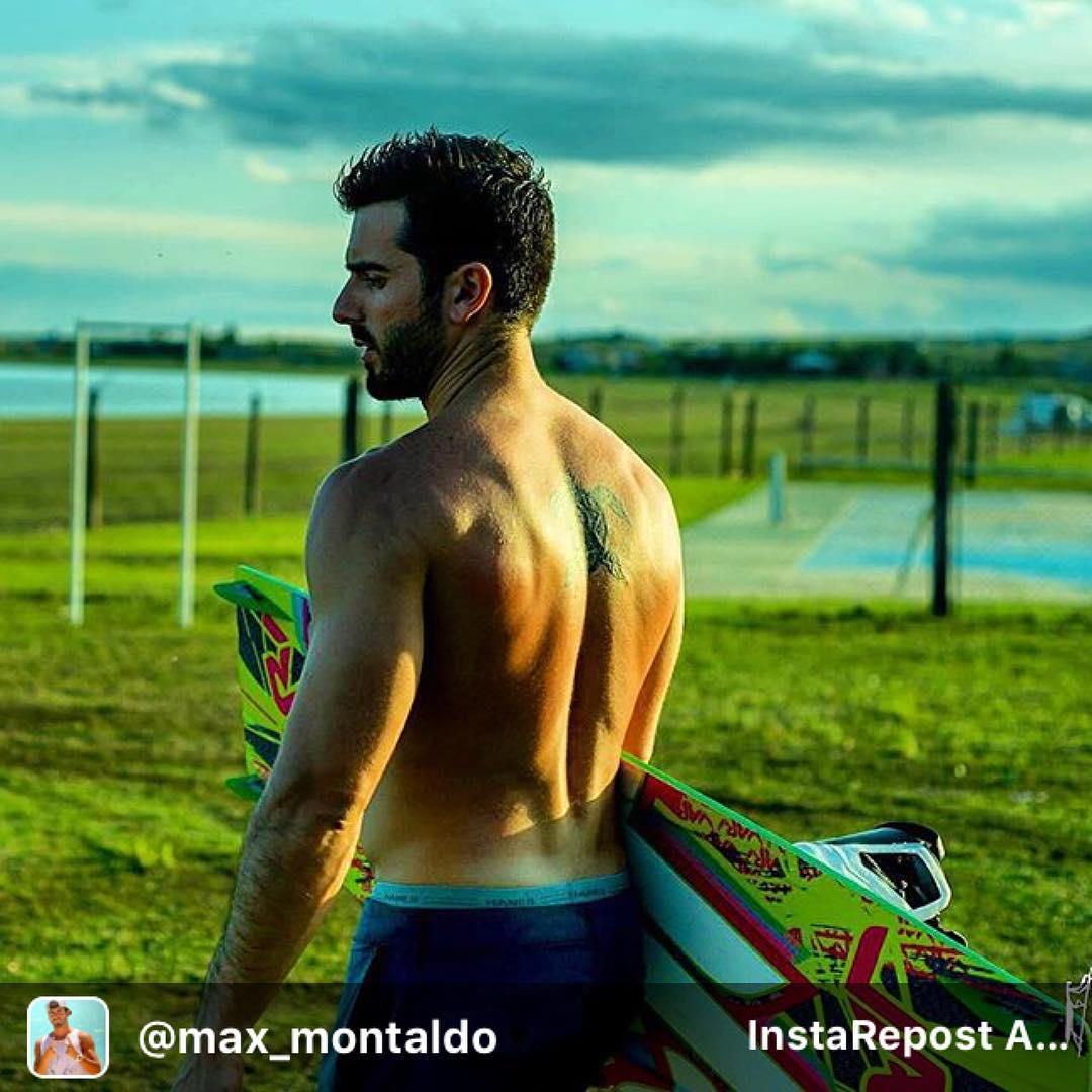 @max_montaldo #riderwow #cordoba #makanibeach  solo ese momento, vos tu tabla y el agua...