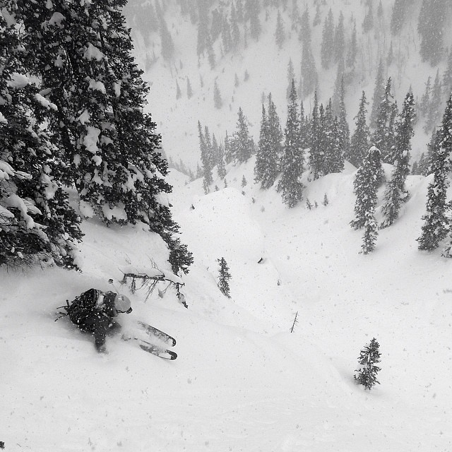 While the word on the ski bum street is #Jackson, and trust us it's really good there right now, #Silverton #CO is quietly pillaging storm after storm. DPS' Mike Barney drops in for more. CC. @trew_gear. #dpsskis #powtime