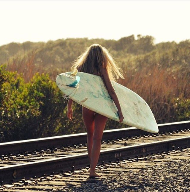 Off the well worn path with team rider @kaydiarcher #luvsurf #secretspot #morning #mission #surf #adventure