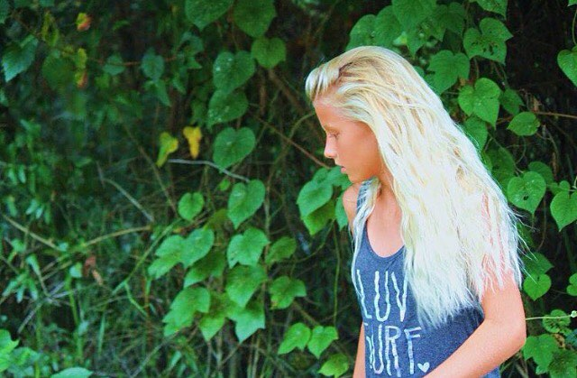 Let your dreams run wild // team rider @tybeeanna #luvsurf #wearthecalidream #dream #blonde #wild #free