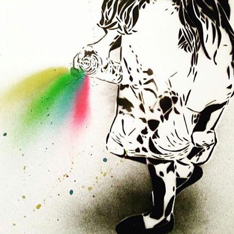 @davelowell • • #stencilmadness #spratx #davelowell #art #graffiti #streetart #atx #austintx #texas #tx