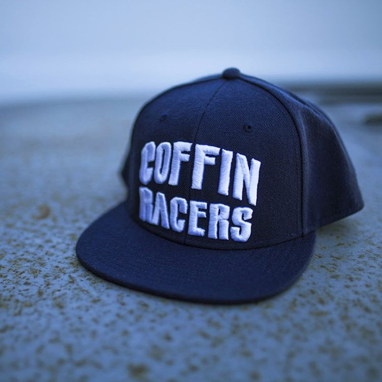 That Coffin Racers snap back. Get it on #hooniganDOTcom