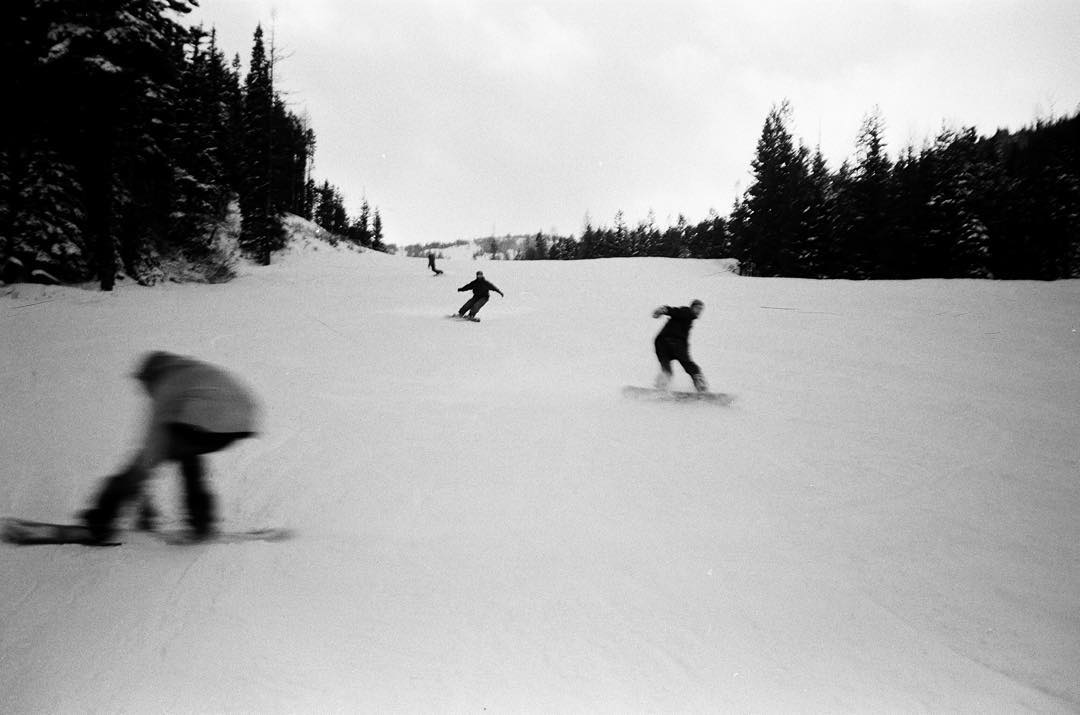 "To our friends and followers posting about snow, seasons and going boarding, we present ""High speed homies."" Yet another pic that didn't make the cut for ROGUE. Grab one of these limited zines before Friday for your chance to win $200 of #coalheadwear,..."