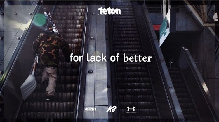 "Urban skiing filmmaking does not give. ""for lack of better"" Dropping Tomorrow. Follow @cam_riley"
