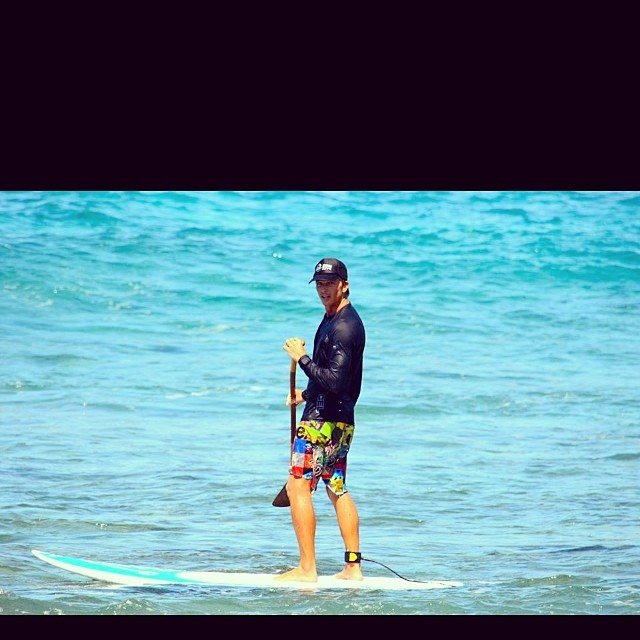 Should I catch another? Loving the Board shorts by @odinasurf #irideirecycle @artofboard #kalamaperformance #imaginepaddlesurf @konaboys @dakine_surf