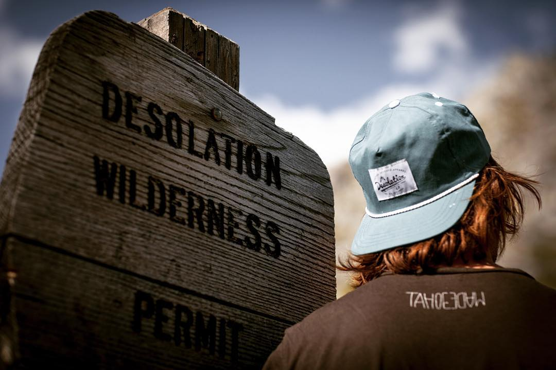 Wilder[ness]. It's a way of life.  P: @ben_arnst _  #desosupplyco #itswayoutthere #DESO