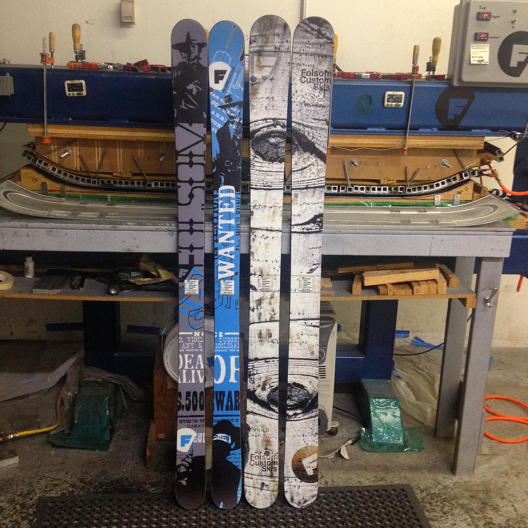 Left 184cm Trigger II, right 186cm Rapture. B. Shipman is teed up to have himself a good season! #elniño #madeintheusa
