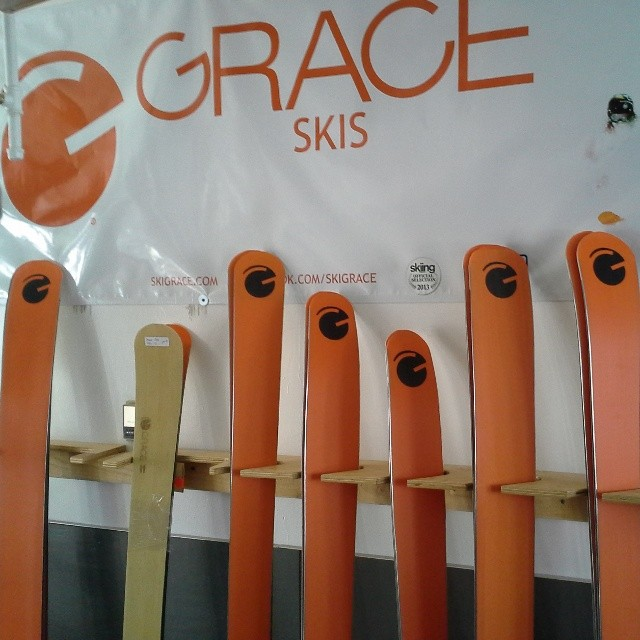 Another set of #orangehot customer skis.  Do you have yours? http://bit.ly/1as6oow