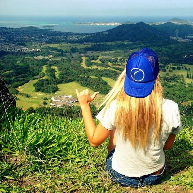 #aloha #shaka from our #Organik intern @laurajustine13 #nature #beach #hawaii #repost #regram