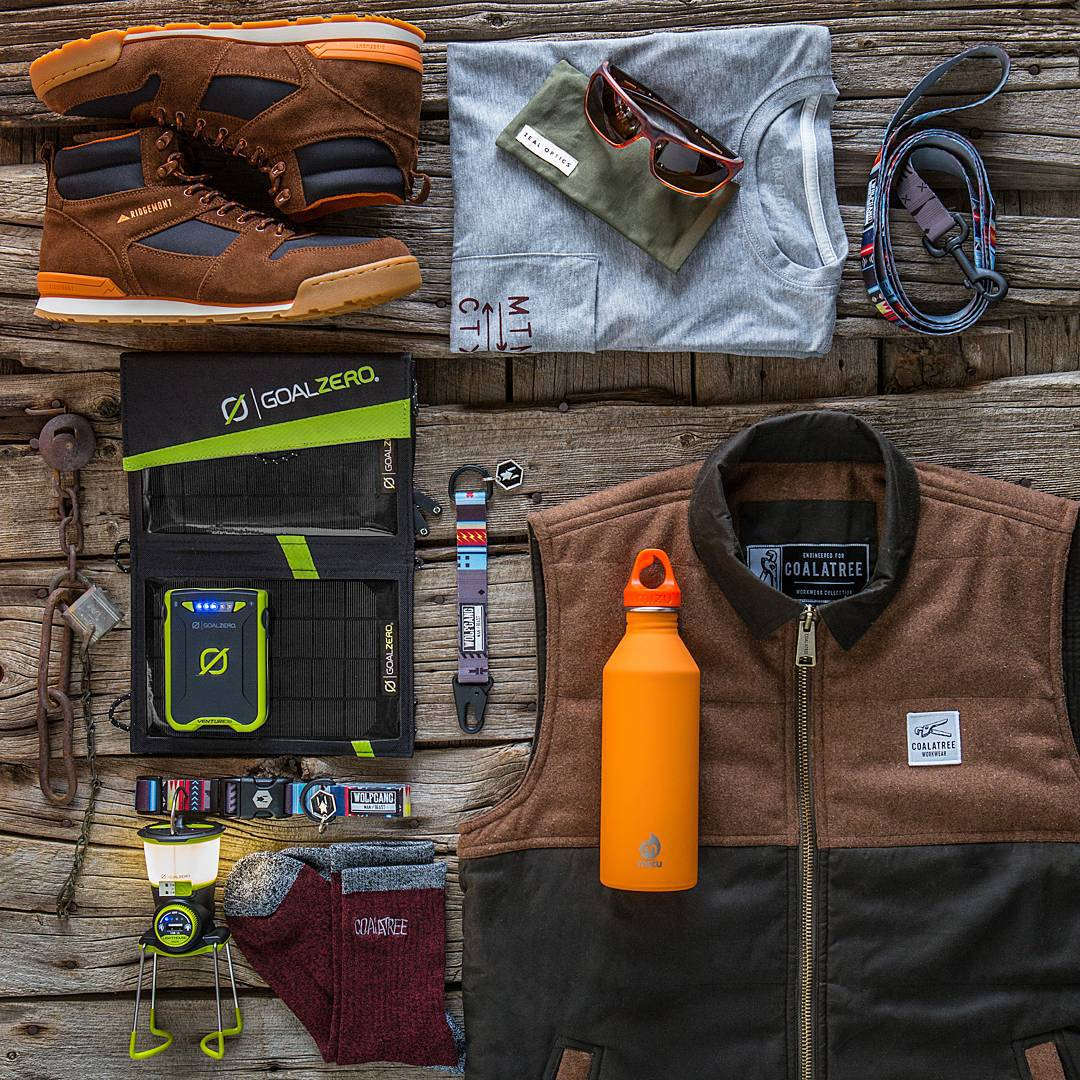 **Giveaway** WIN this gear for your next outdoor adventure. Here's how to enter: 1. Follow @wolfgangmanandbeast + @ridgemont_outfitters + @coalatree + @goalzero + @zealoptics + @mizulife 2. LIKE this photo. 3. TAG three adventure friends. You can enter...