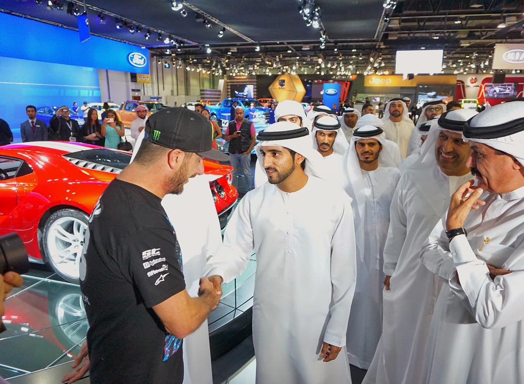 While I was at the Ford's booth at the Dubai Motorshow today, I had the honor of meeting Sheikh Hamdan, the Crown Prince of Dubai (@Faz3). Sheikh Hamdan is the reason I'm here right now. He's in charge of bringing new business and tourism into Dubai,...