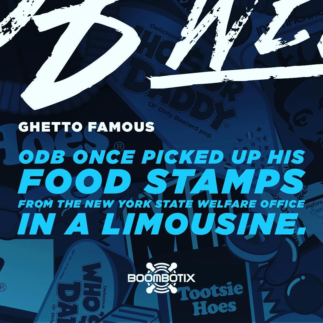 2️⃣ Ghetto Famous: Remembering ODB. #ODBWeek