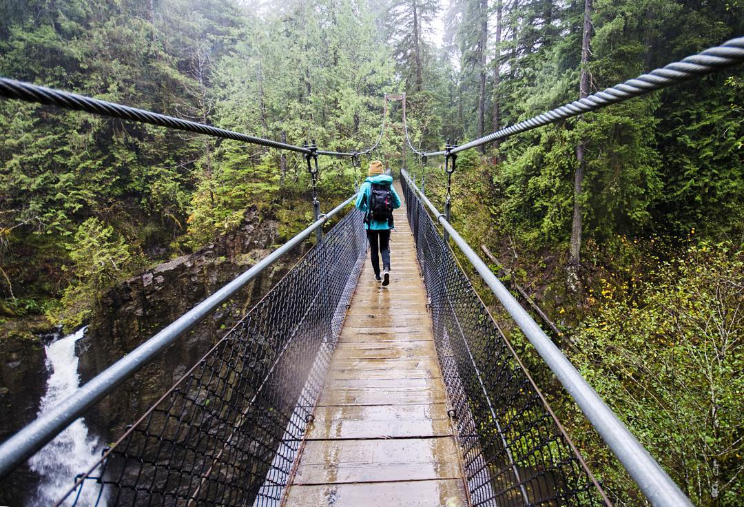 It's better to chase waterfalls in the rain #LiveLifeOutside  PC: @theslowelife