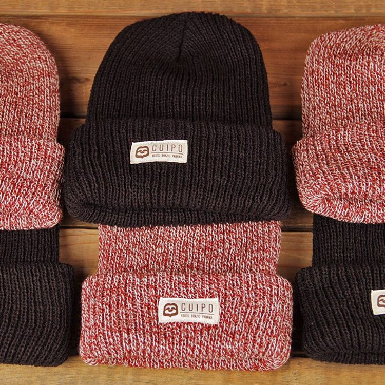 Fight off cold weather this season while fighting deforestation with our #CuipoRoots #beanies. #Cuipo #FallFavorites #SaveRainforest #BeanieSeason