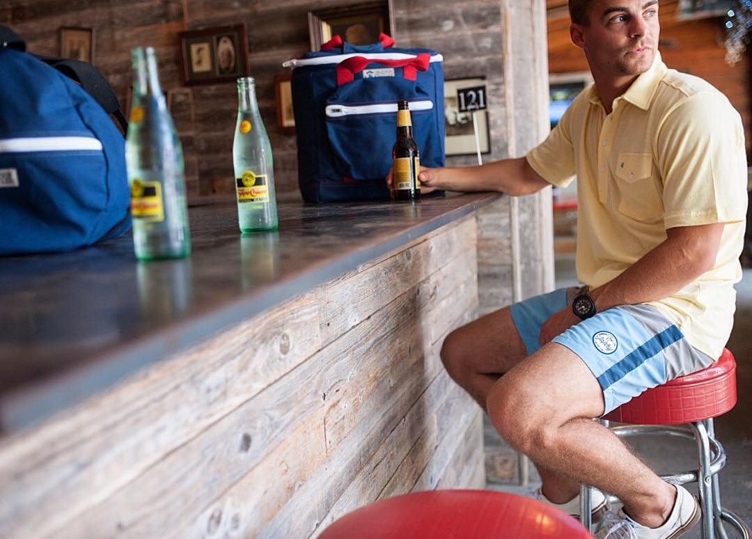 Tuesday brews-day. || The Beachnik Split Trunk.  @japhysurfco #japhysurfco #japhycrew #japhybrew #adventure #surf #travel #roadtrip #classic #swimwear #menswear #retro #nofilter  Live #BurntandBarefoot