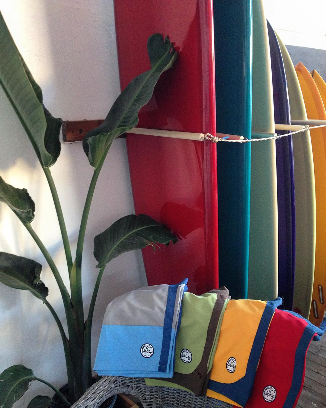Assorted color, style and size.  @japhysurfco #japhysurfco #beachnik #surf #travel #surfing #adventure #menswear #swimwear #nofilter #classic #retro #CA #SF  Live #BurntandBarefoot