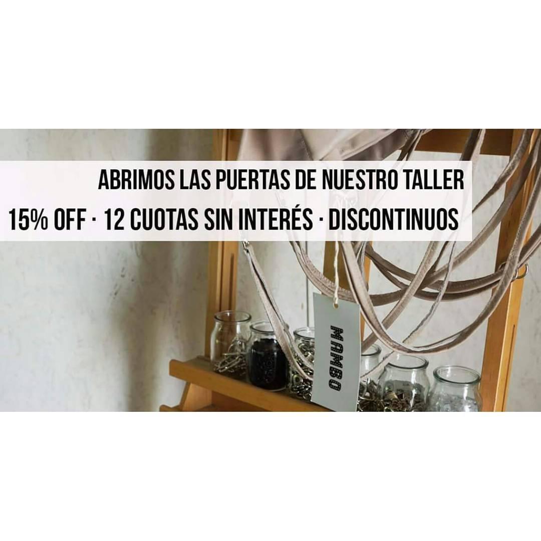 Este jueves y viernes en Martínez liquidamos discontinuos + 15% de descuento en efectivo + cuotas . De 16 a 20hrs. *consultar dirección.