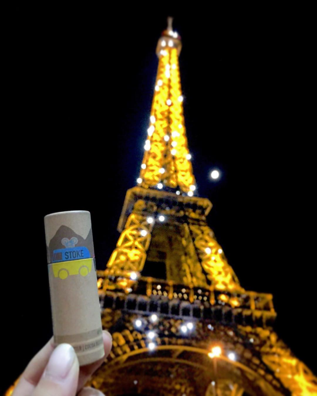 Whether you're at the top of Mt. Everest or the beautiful streets of Paris, Stokie will keep your lips and face protected and your stoke completely ↩️'t ⬆️.