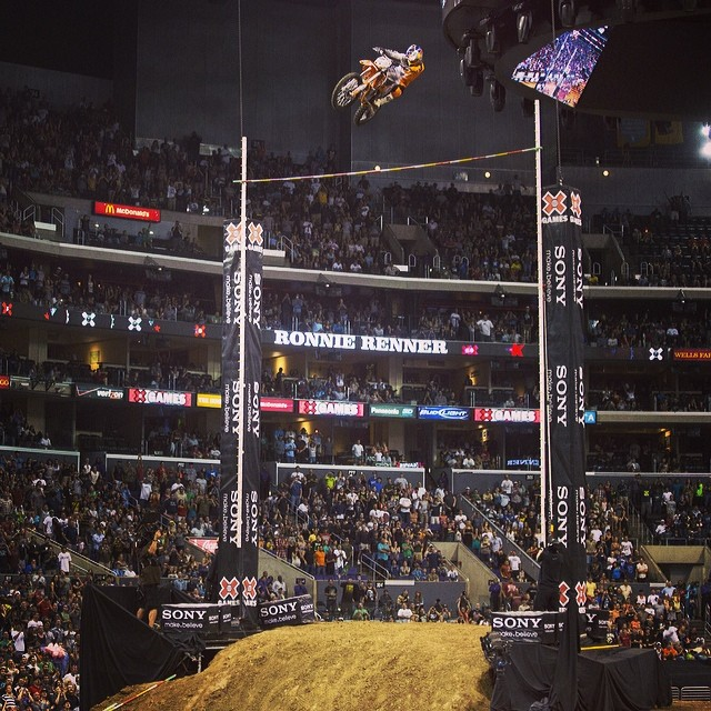 Throwing it back to @rendawgfmx boosting 47ft. #StepUp #TBT  Stoked for #xgamesaustin
