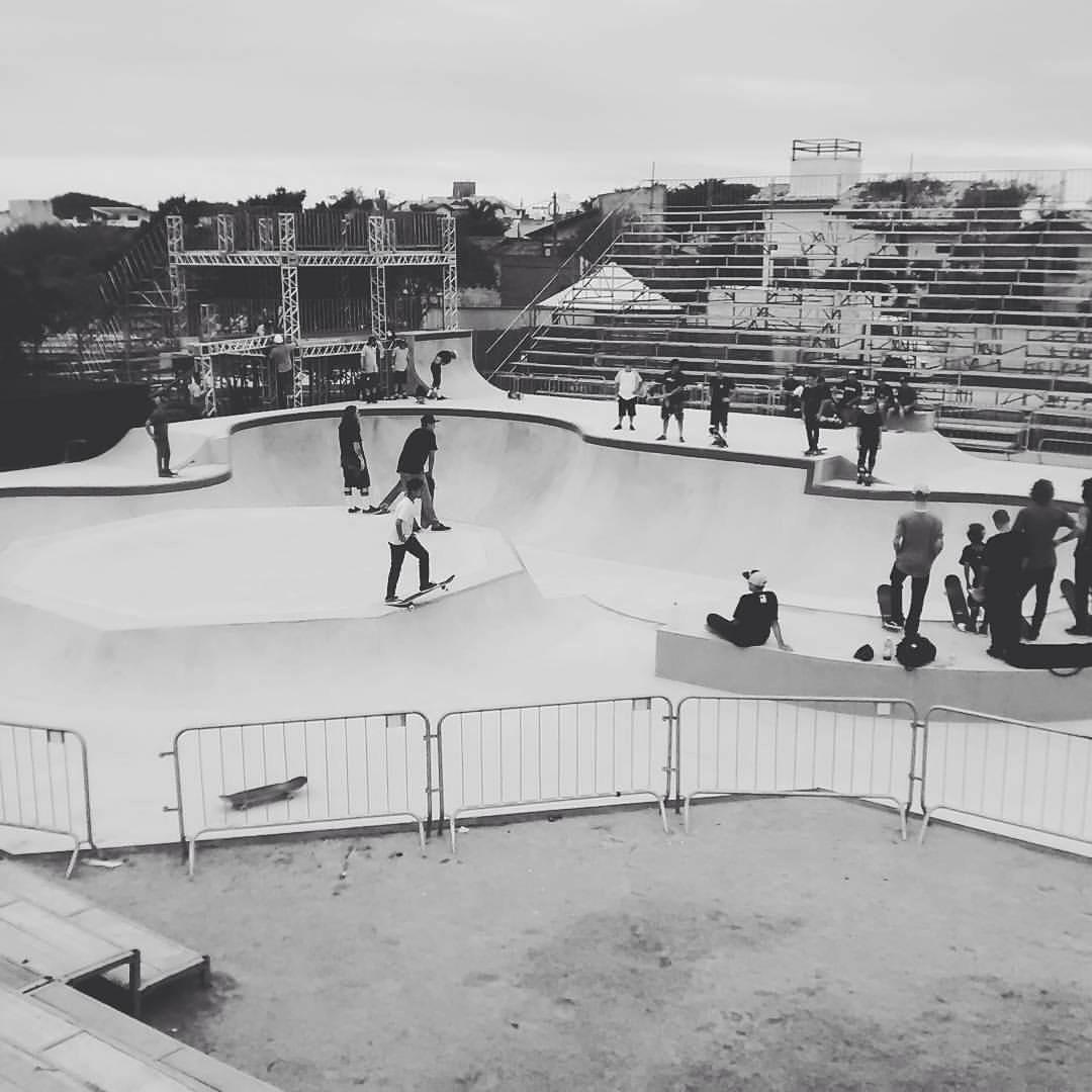 La pista del campeonato. @lucasvampirledezma #redbullskategenerstion #riotavares #SpiralSkateboarding #GoSkate #QualityShoes