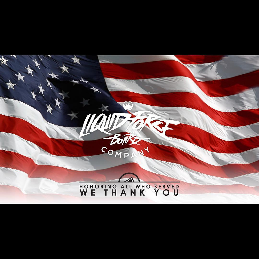 To all who served... Liquid Force would like to thank you for your service!  #VeteransDay #Legends