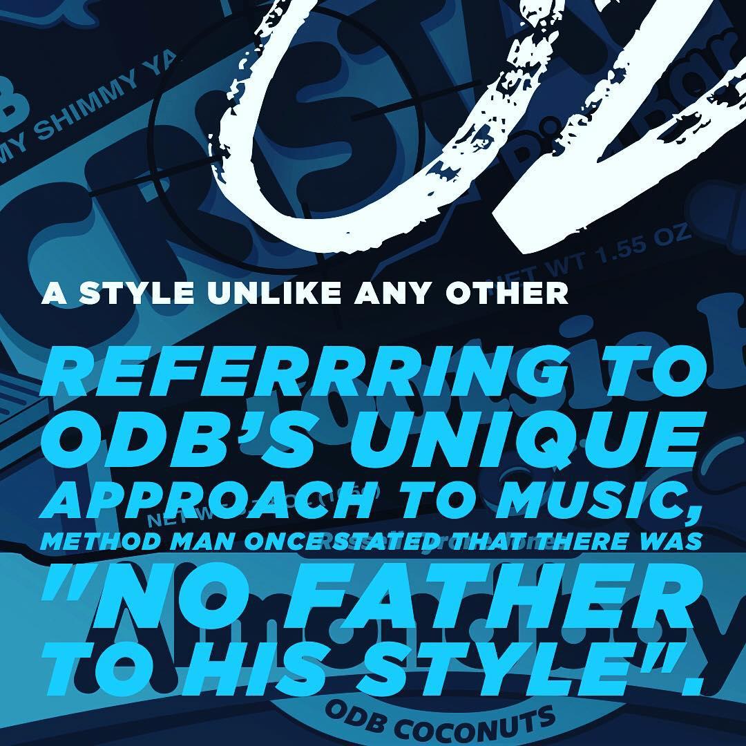 3️⃣ A Style Unlike Any Other: Remembering ODB #ODBWeek