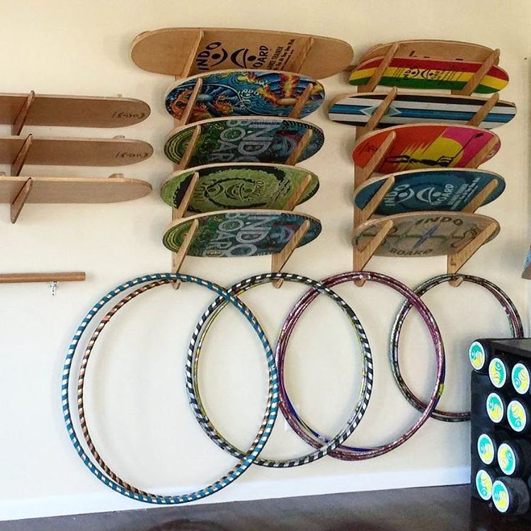 The Kaua'i Series - Surfboard/Indo Board Rack? Yup, like they were made for each other.  #grassracks #bamboo #boardrack #boardracks #surfrack #surfboard #surf #surfer #balance #wednesday #humpday #yoga #indoyoga