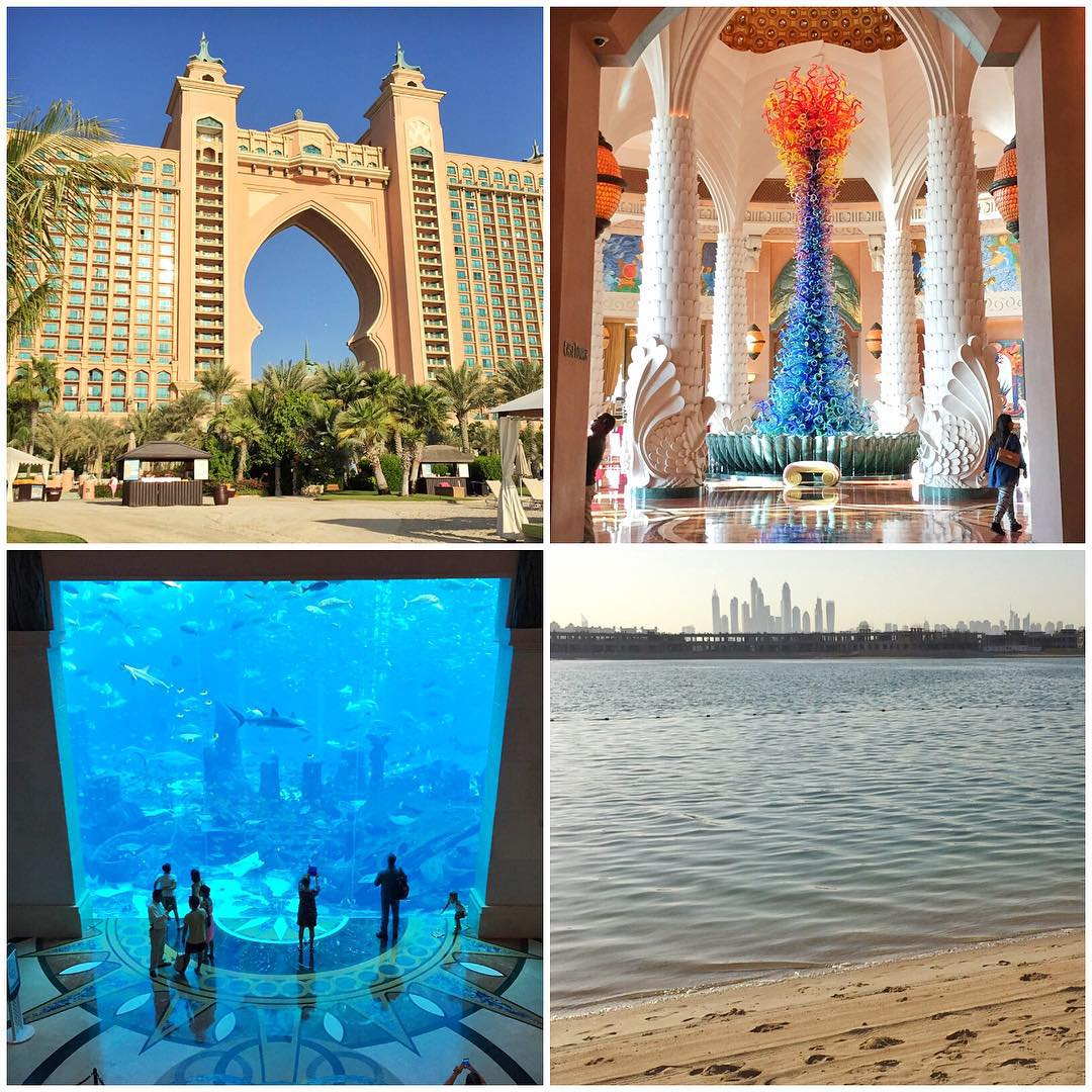 After a looong flight to Dubai, I ended up here at The Atlantis resort in Dubai - which is at the very tip of the Palm Jumeirah (a manmade island modeled after a palm frond). It's a pretty epic place to kick back for a few days with my family,...