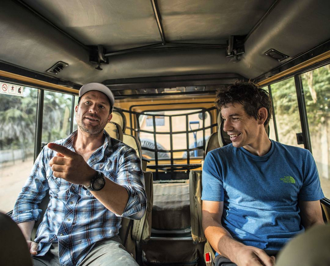 "//Angola// ""On August 30, @alexhonnold, @stacyabare, @tedhesser, and myself boarded flights to Luanda with some audacious goals for a two week trip: we sought to sample the climbing, see the state of affairs 10 years after Stacy's last visit, and..."
