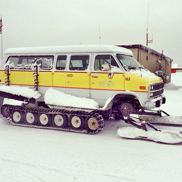 Adventure mobile you dream about if you live anywhere in the mountains. @ricknoubal saw this in West #Yellowstone , MT. Definitely worth a #regram . #RoadWarrior