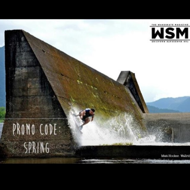 Ready for warm weather? Last day to get 25% off the entire site. Promo code : SPRING // @matthooker wallride somewhere awesome ! Stoked to have him repping #stzlife #wakeskate #professionaloutsider #happyshredding