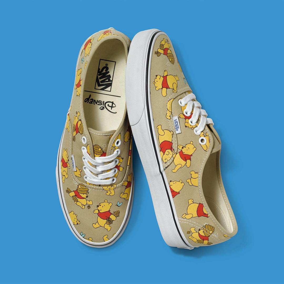 Winnie the Pooh en #Authentic #DisneyAndVans