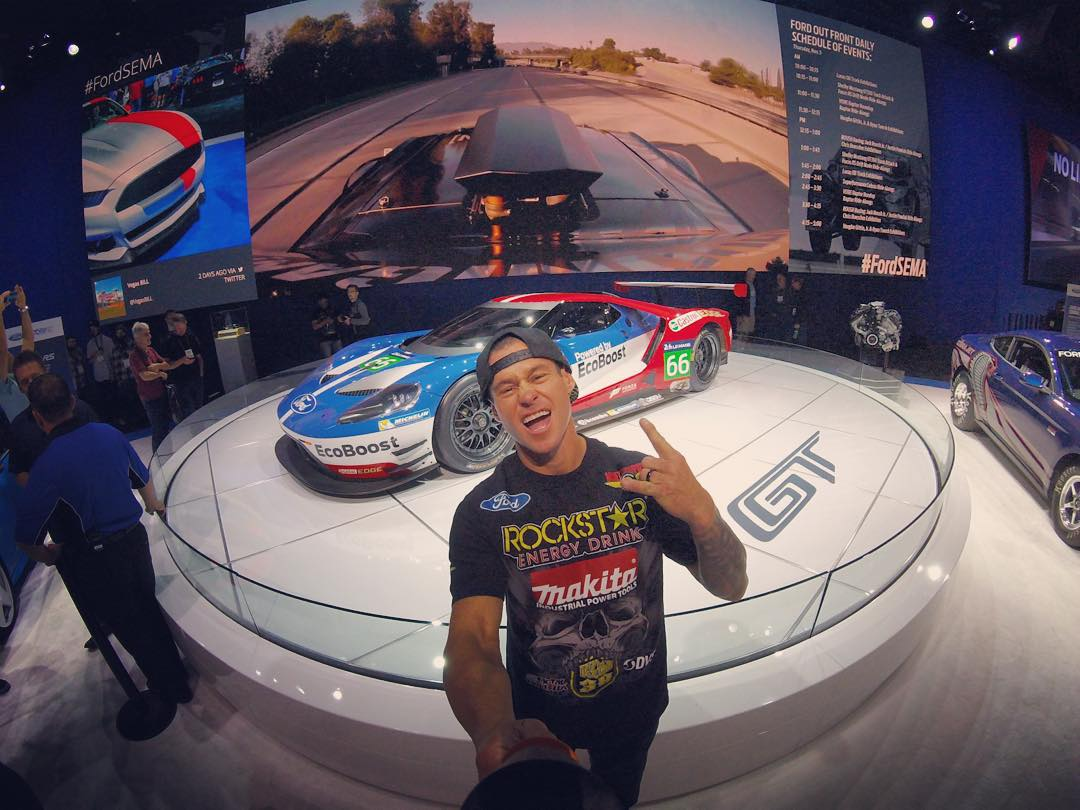 #TBT to just last week hanging out with @ford at the #SEMA show