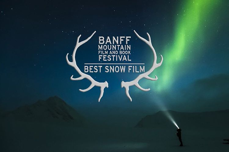 Huge props to our friend @anthonybonello for taking home the prize for Best Snow Film at the Banff Mountain Film Festival!