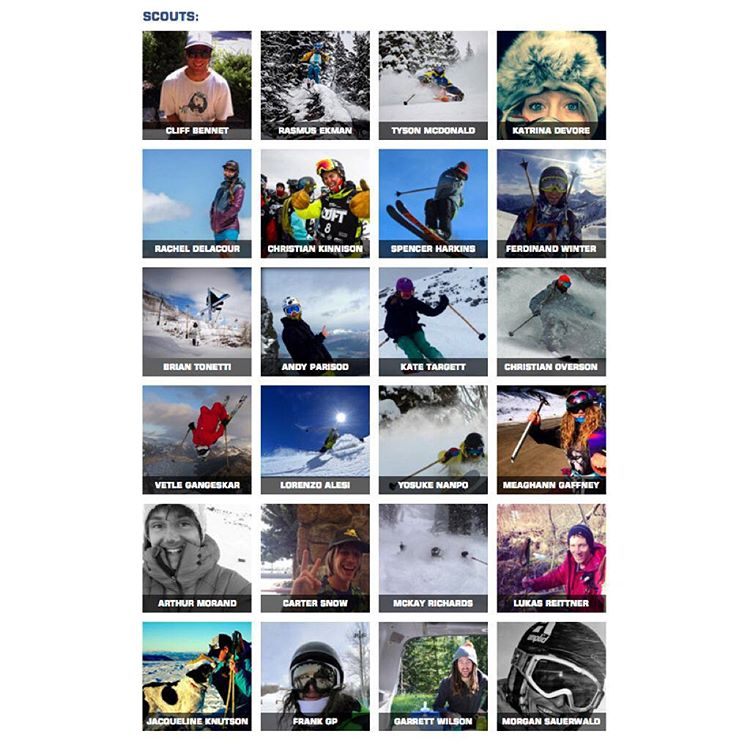 "And now to introduce the 2016 Panda ""Scouts""! This list could easily be 100 people strong! There are so many amazing athletes skiing with Panda Poles, it was extremely hard to narrow this roster down to just 24. To be a Panda ""Scout"" is to represent..."