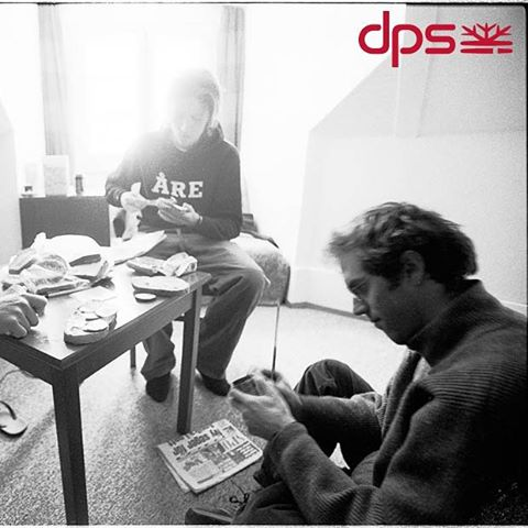 The life. Stephan Drake and Swedes in the Hotel Bellevue, 2002. Photo:@oskar_enander. #dpsroots