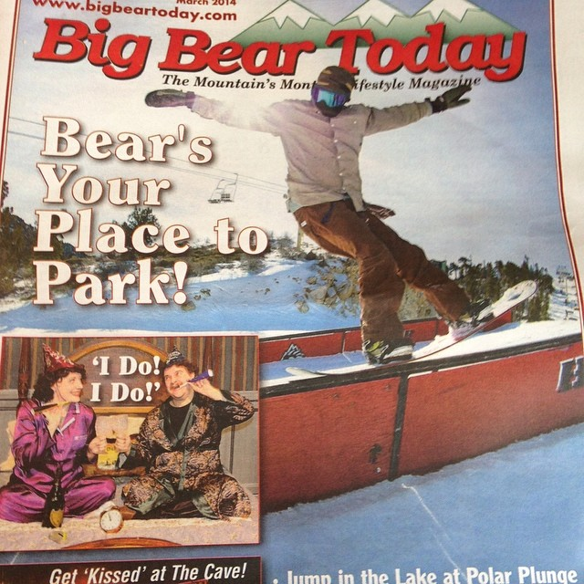 @leonard_mazzotti gracing the pages of #BigBearToday! #thefluxlife @jslv