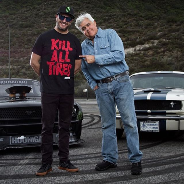 In case you missed it last night on CNBC, hit the link in my profile to check out part of my segment from yesterday's episode of @JayLenosGarage. It was cool to meet and hang out with Jay in person - but it was RAD to put a smile on his face when I...