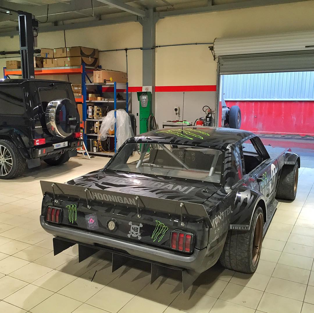 Got reunited with my Ford Mustang Hoonicorn RTR yesterday here in Dubai. This car has had its fair share of overseas events this year - Leno TV shoot in LA, Clarkson Hammond and May Live in South Africa, Goodwood in the UK, Gymkhana GRID in the UK, and...