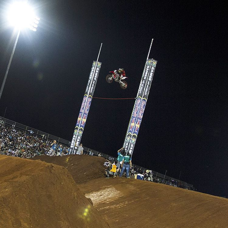 @BHud96 • 25 years old • Temecula, Calif. • Four #XGames appearances • Three total medals • One gold medal • Two silver medals