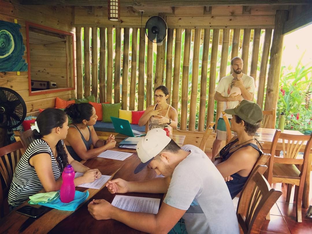 After being closed for September and October, Bodhi Surf School is officially open again for business! And we've added a few members - here is most of the team at our first group meeting.  Our first group of the season arrives tomorrow and we couldn't...