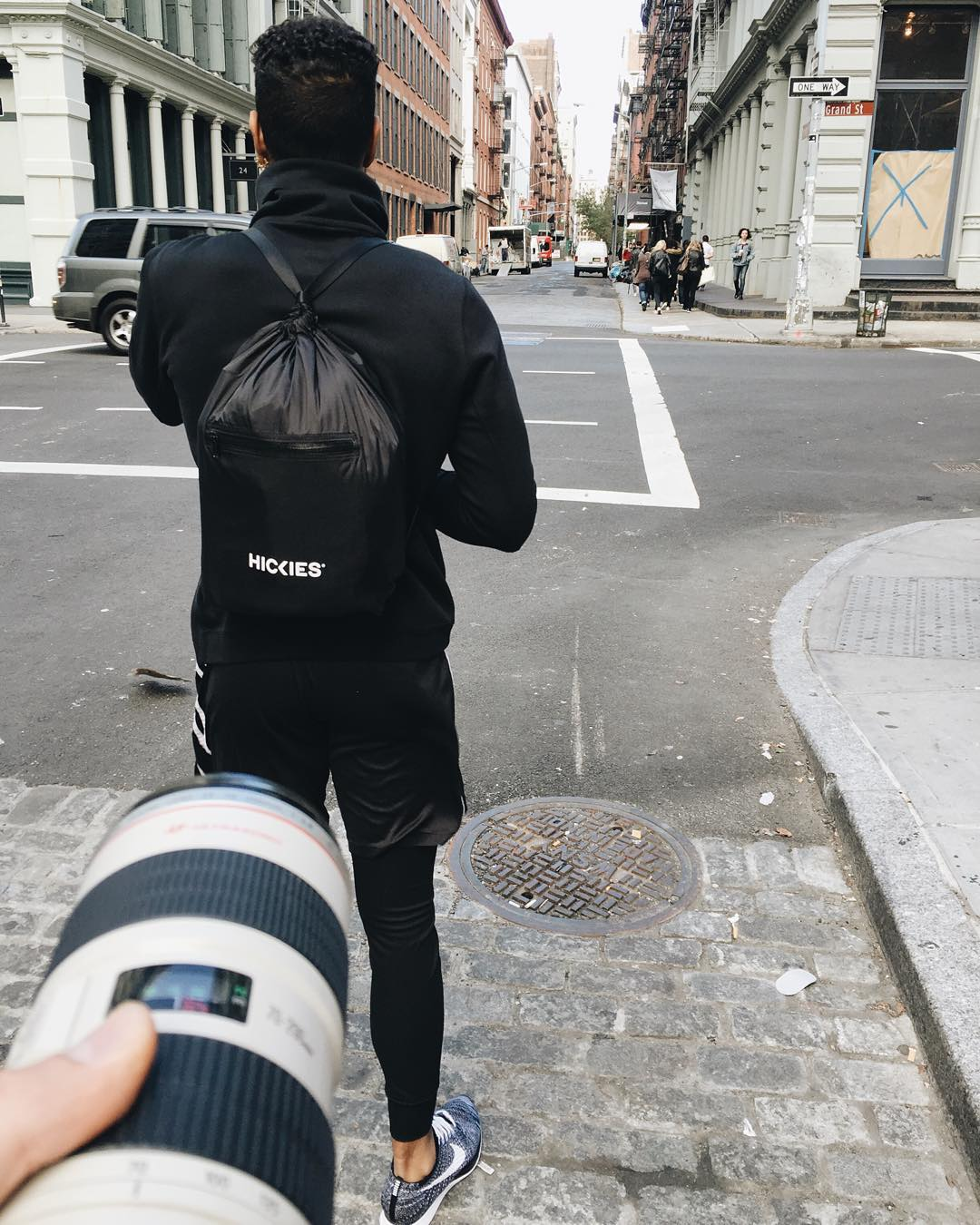 Hitting the streets for part one of our F/W men's shoot with something special on our backs.