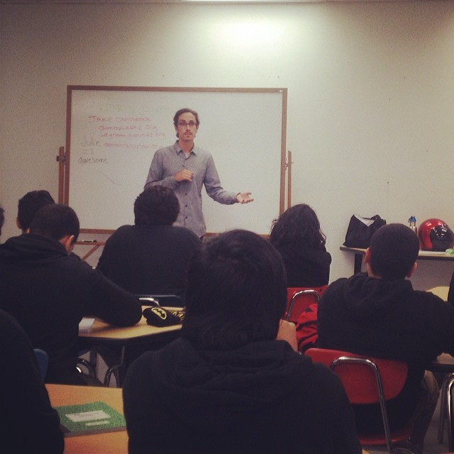 STOKED LA volunteer Jake Camarena visited our Los Angeles Big Picture High School cohort for professional development. Jake gave them 5 success tactics to walk away with :  1) Never give up on your dreams 2) Do not wait until it's broken to fix it 3)...