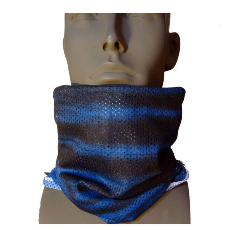 AVALON7 Mesh Tube faceshields are the most breathable and functional snowboarding facemasks on the planet.  This design is called Blue Ripples by @robkingwill.  Made from our technical X7 polyester mesh, you can wear this facemask as a single layer for...