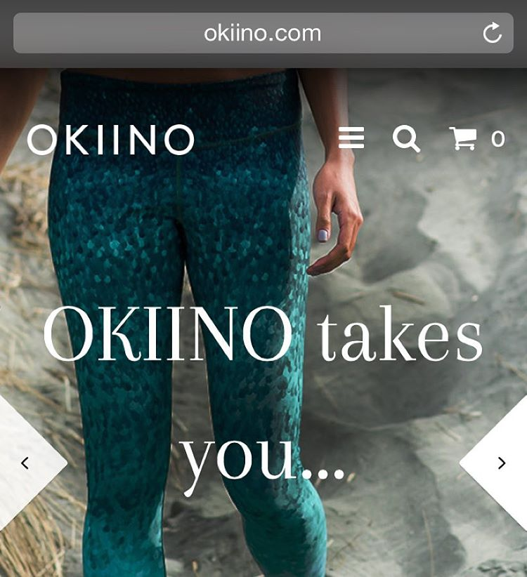 Come visit our new OKIINO.com website to learn about our story, product features, collaborations and social impact!  You can shop all 3 color ways of scales, but they're going fast so shop now!  Link in Bio #website #launched #surfleggings...