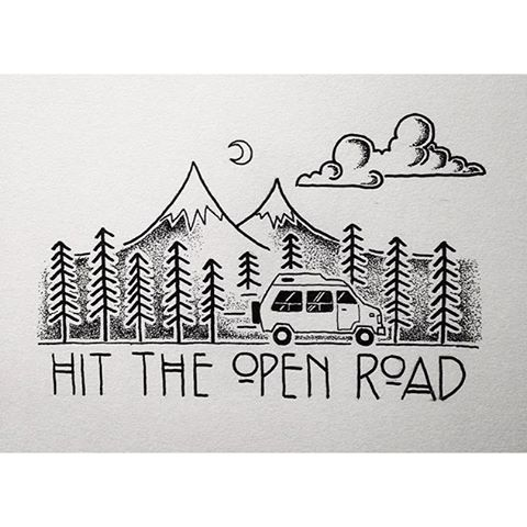Time to hit the open road |